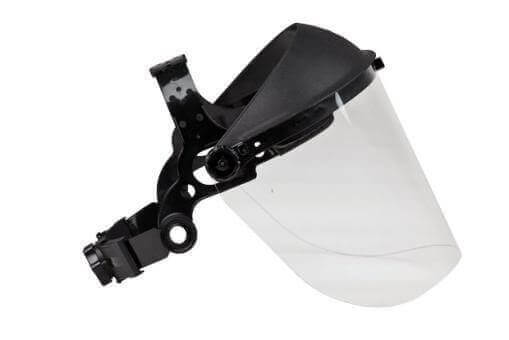 Gesicht / Spritzschutz klarviser Klarsichtscheibe 210mm