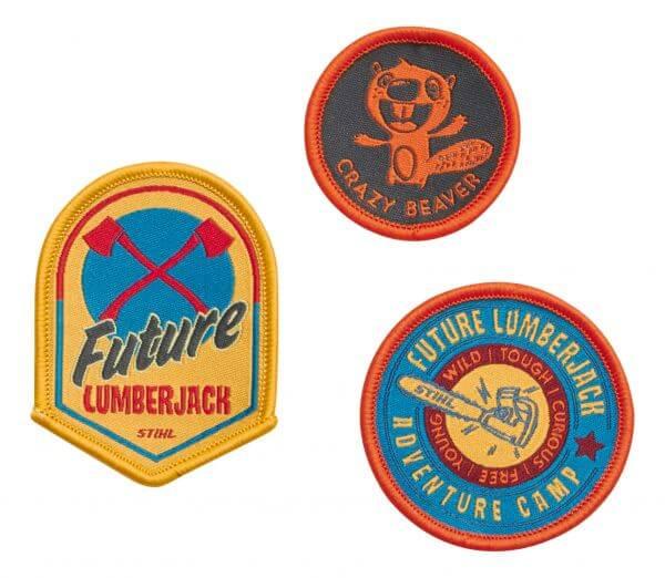 Aufnäher STIHL Badge-Set