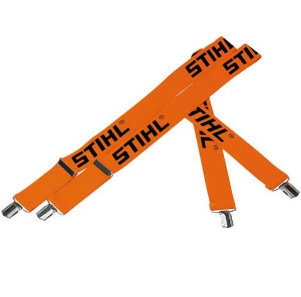 Hosenträger Profi STIHL orange mit Metallklips
