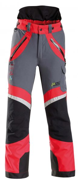 Schnittschutzhose PSS X-treme Light (rot/grau)