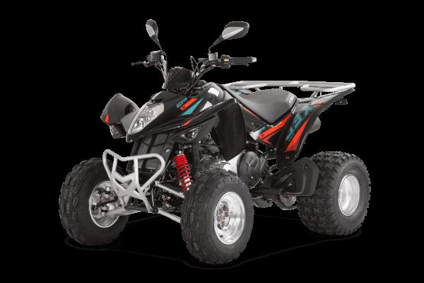 Quad KYMCO Maxxer 300 Onroad LOF - schwarz