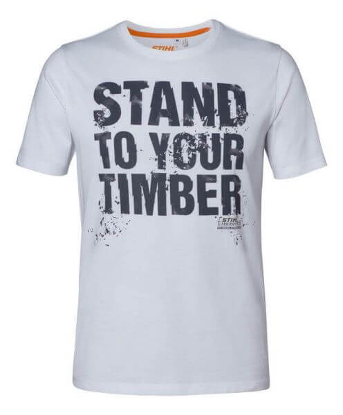 "T-Shirt STIHL ""STAND TO YOUR TIMBER"""