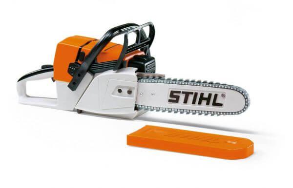 Kinder-Spielzeugsäge STIHL mit Batteriebetrieb