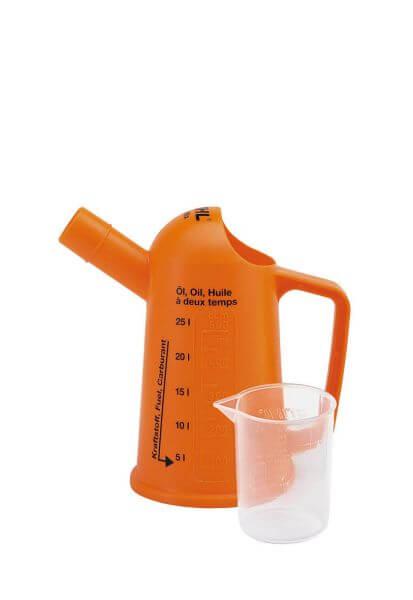 Messbecher STIHL - zum Anmischen von bis zu 25 l