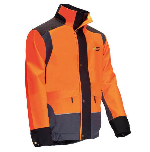 Regenjacke PSS X-treme Rain (orange/grau)
