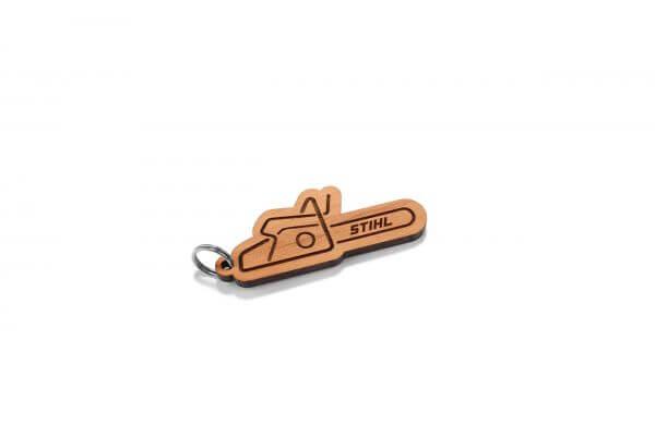 Schlüsselanhänger STIHL aus Holz
