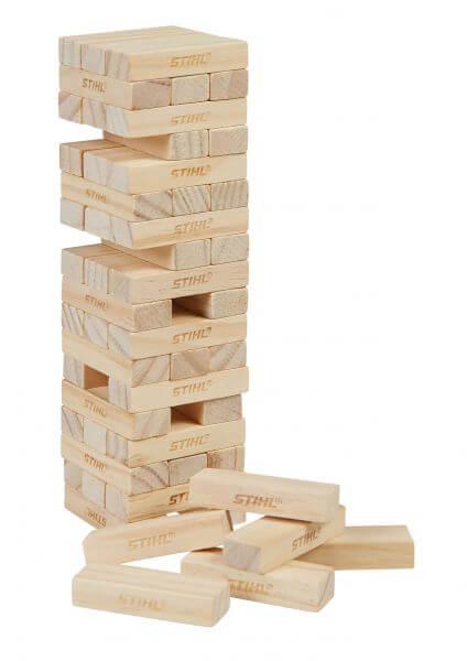 Holzstapelturm Spiel STIHL