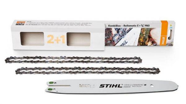 Sägeketten-Schienen Set STIHL 3/8P, 1,3 mm, Picco Micro 3, 35 cm