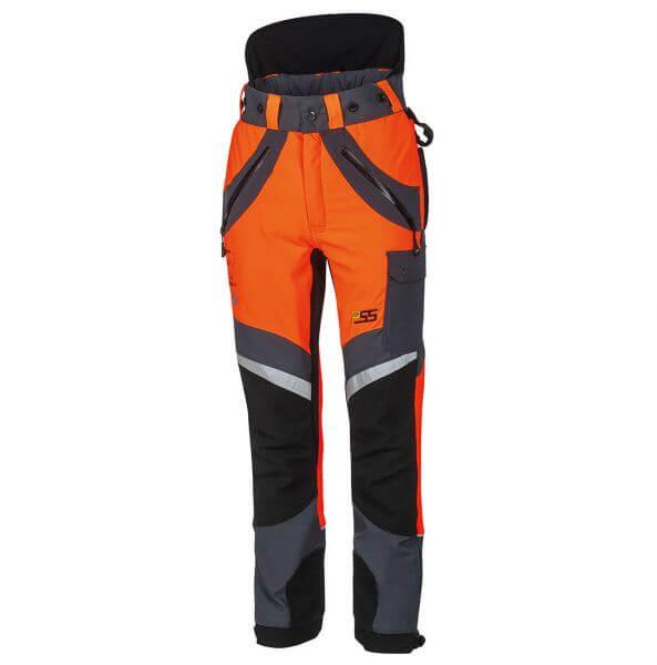 Schnittschutzhose PSS X-treme Air 5x5 (orange/grau)