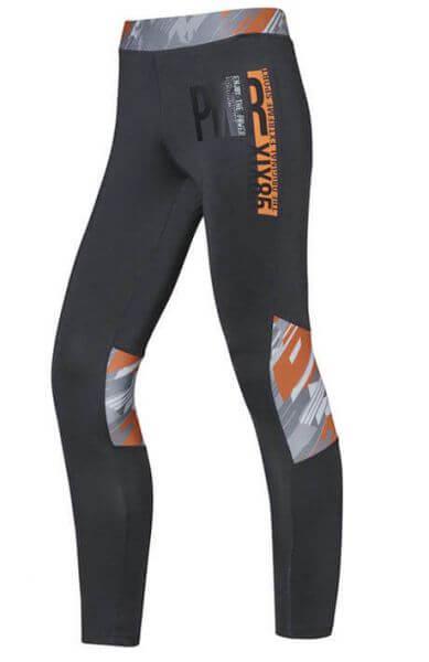 Sport-Leggings STIHL Damen grau /orange