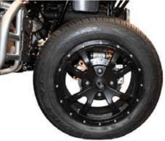 Radsatz mit Alufelgen KYMCO für Maxxer und MXU 400 und 450i