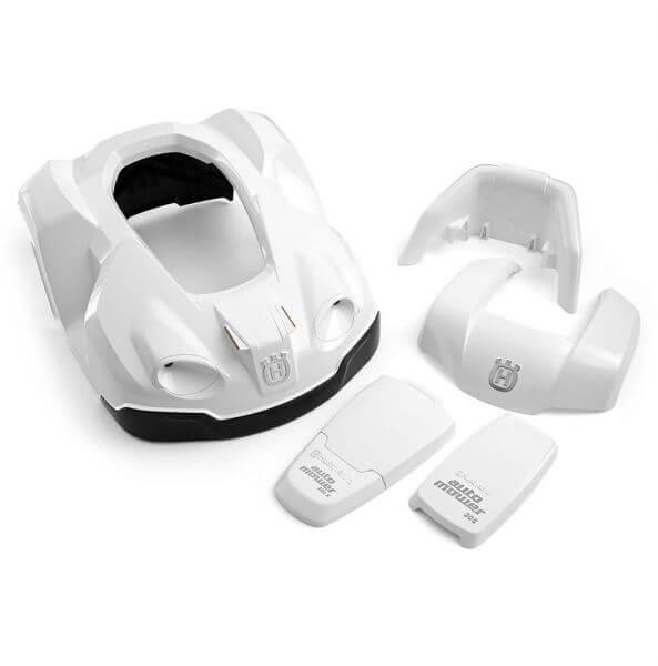 Designcover Automower weiß