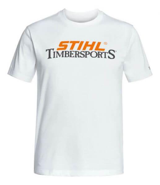 T-Shirt STIHL TIMBERSPORTS weiß