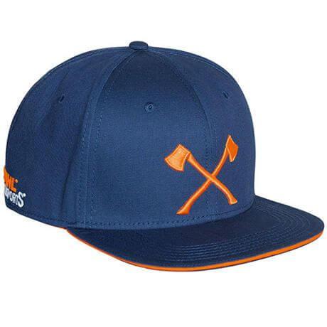 Cap STIHL Timbersports axe Blau